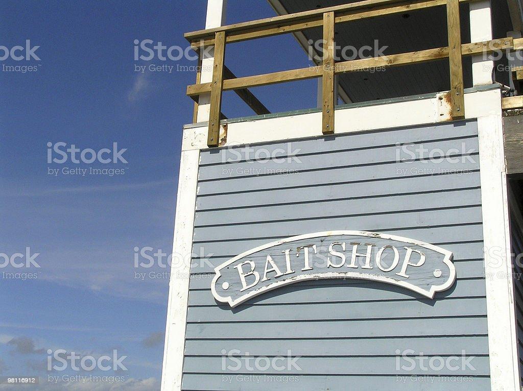 bait shop royalty-free stock photo