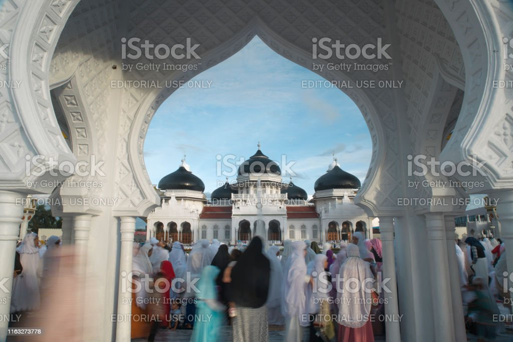 Baiturrahman Grand Mosque In The Center Of Banda Aceh Stock Photo Download Image Now Istock