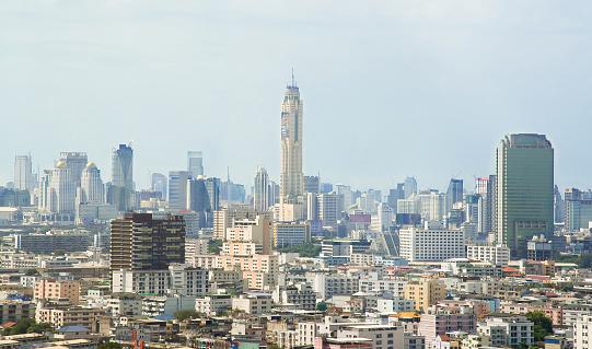 istock Baiyoke Sky Tower And Cityscape In Bangkok, Thailand 517464444
