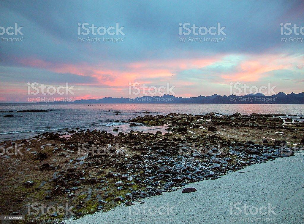 Baja the beautiful stock photo