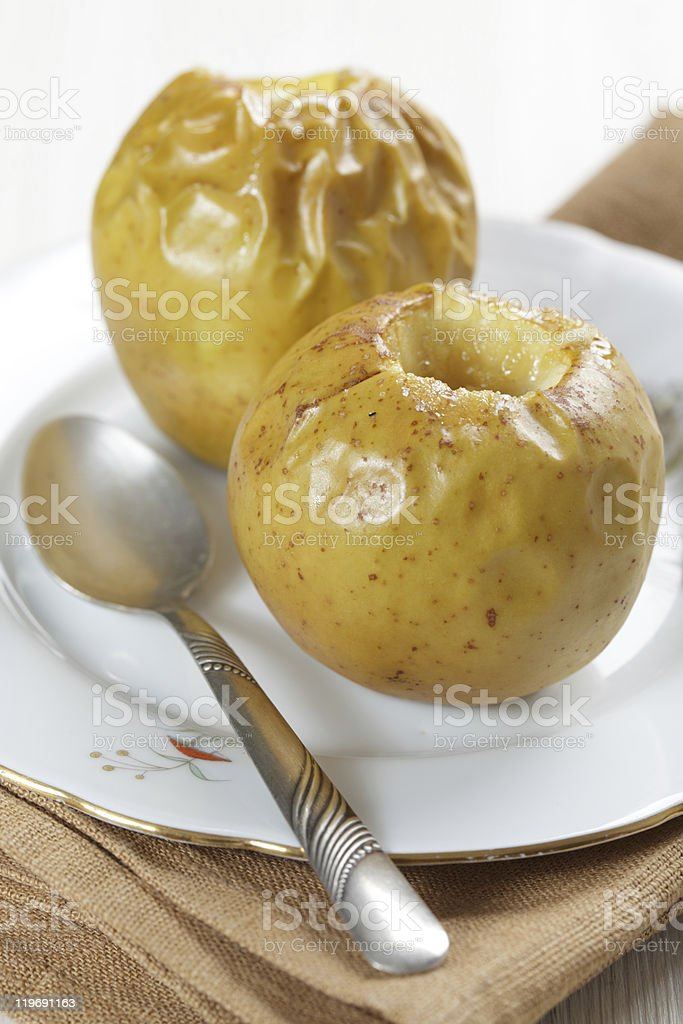 Gebackene Äpfel – Foto