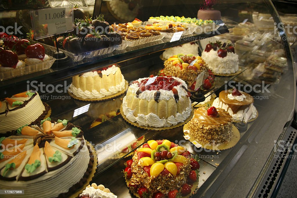 Baked cakes foto