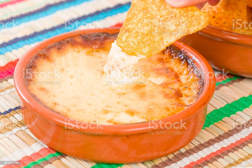 Baked Cheese stock photo