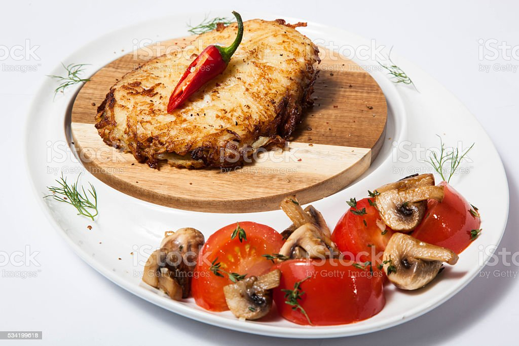 baked chicken breast stock photo