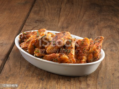 istock Baked chickens. 1278014578