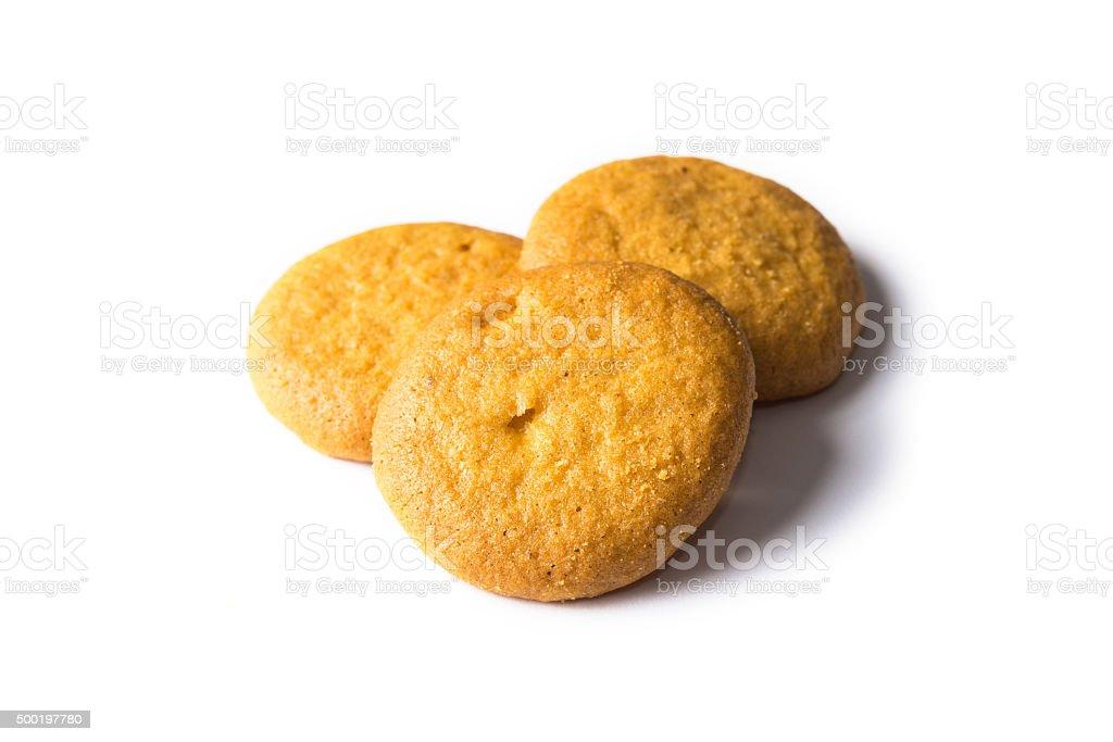 cookies assados - foto de acervo