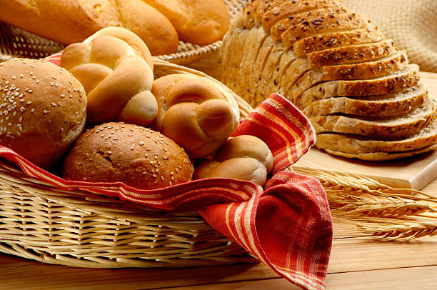 baked foods - bakeries stock photos and pictures