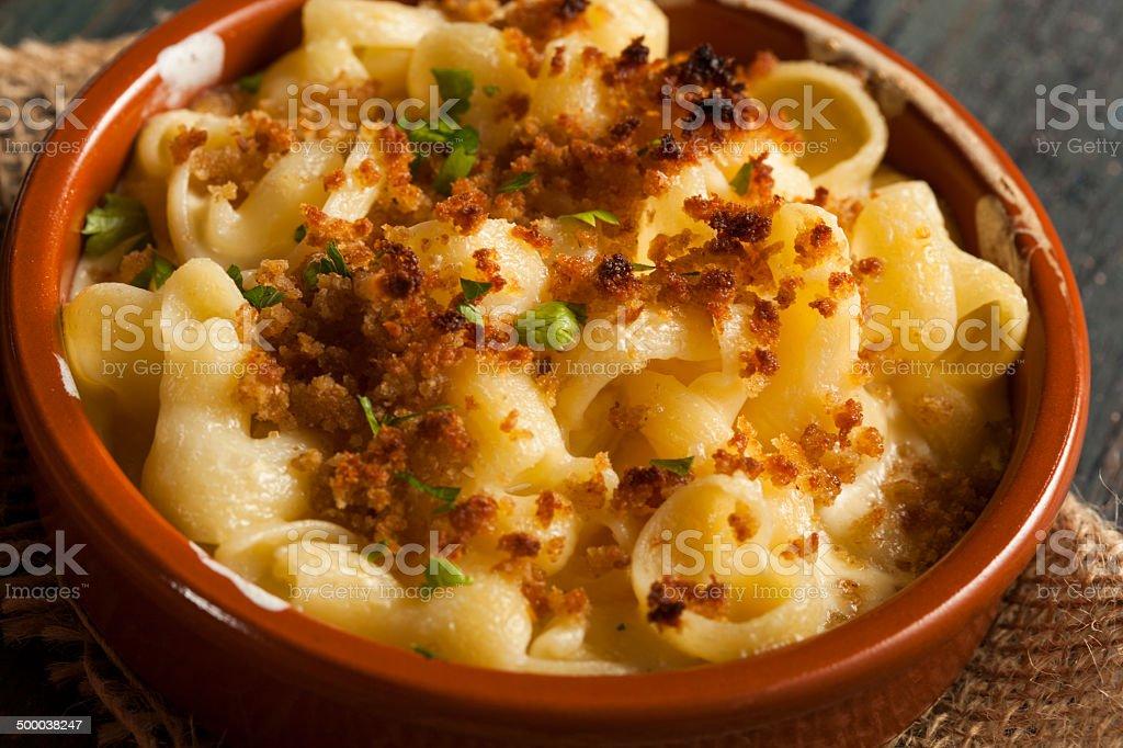 Gebackene hausgemachte Makkaroni und Käse – Foto
