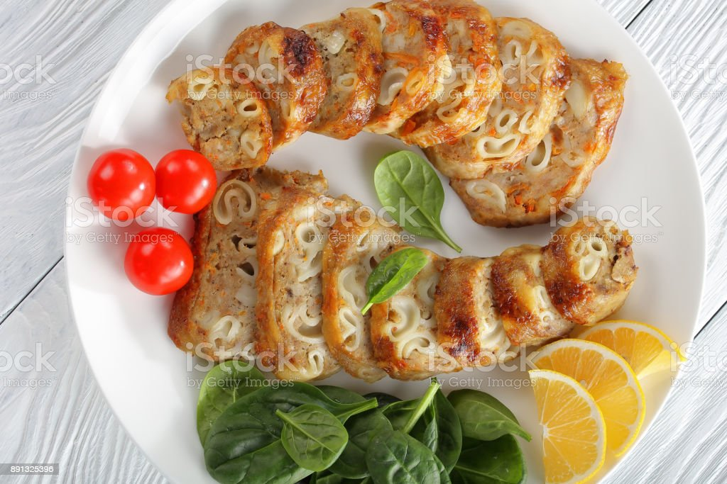 baked in oven poultry boneless drumsticks stock photo
