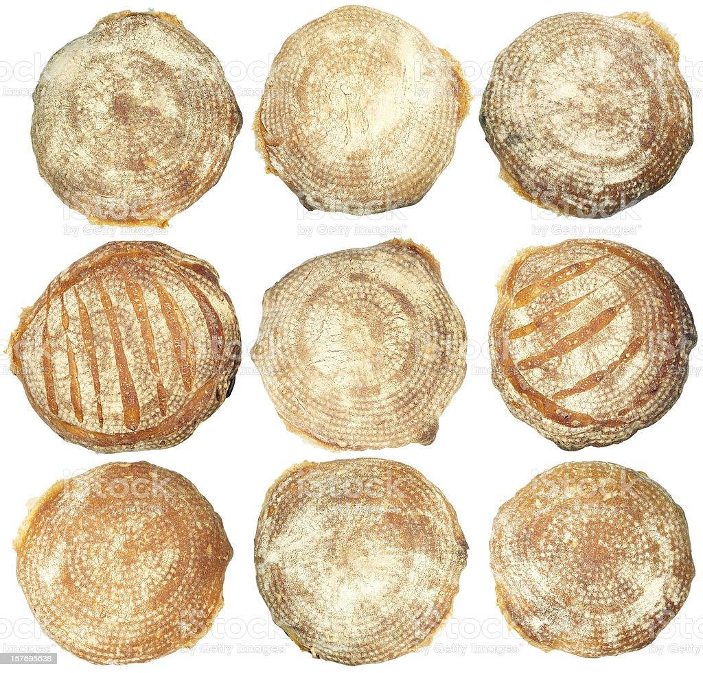 baked italian bread royalty-free stock photo