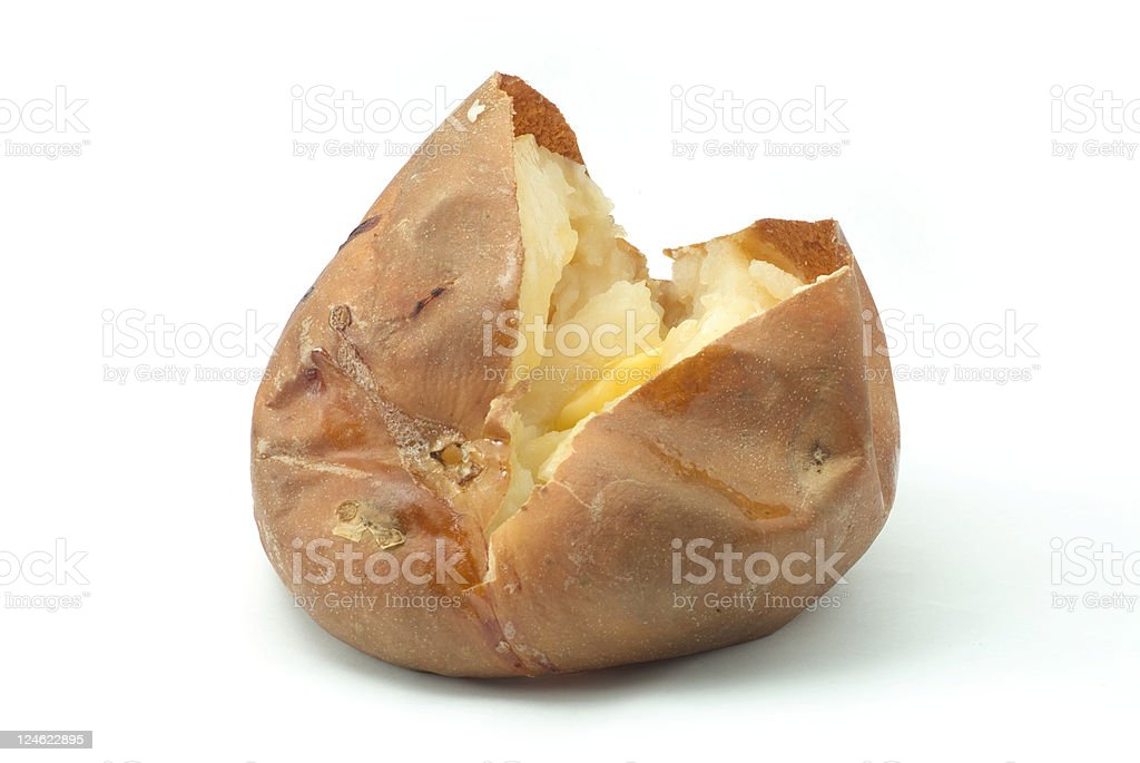 Baked Potato royalty-free stock photo