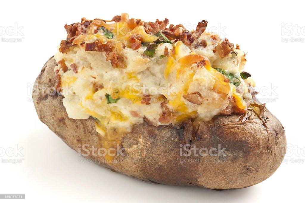 Baked Potato stock photo