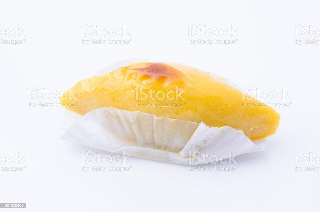 Gebackene süße Kartoffelecken Lizenzfreies stock-foto
