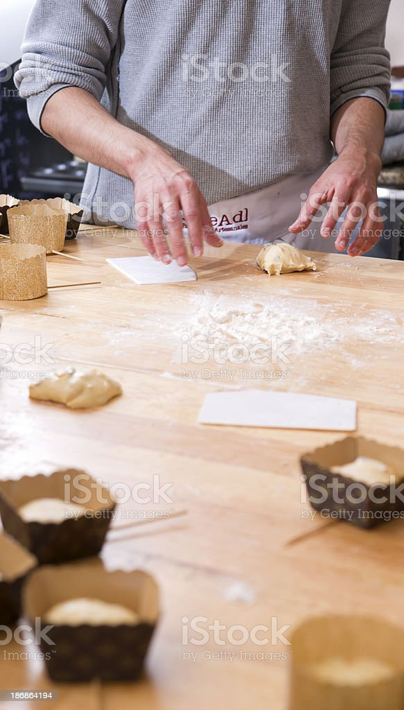 Baker Hands royalty-free stock photo