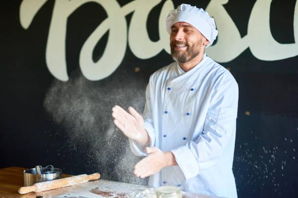 Baker in der Küche – Foto