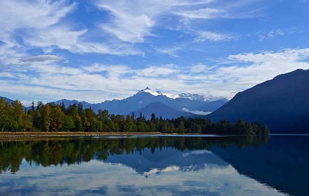 Espelho de Baker Lake - foto de acervo