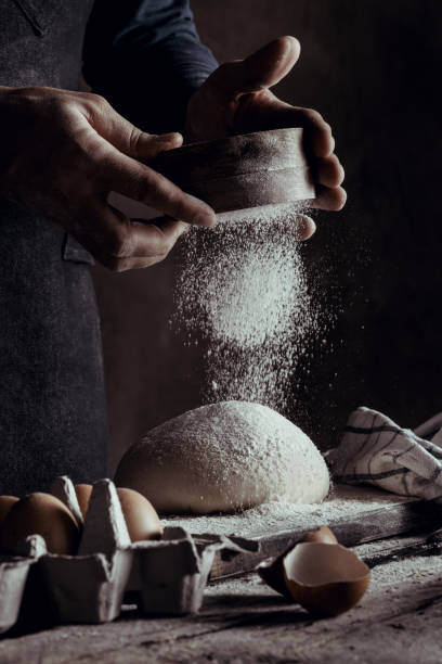 Baker Baker making bread baking bread stock pictures, royalty-free photos & images