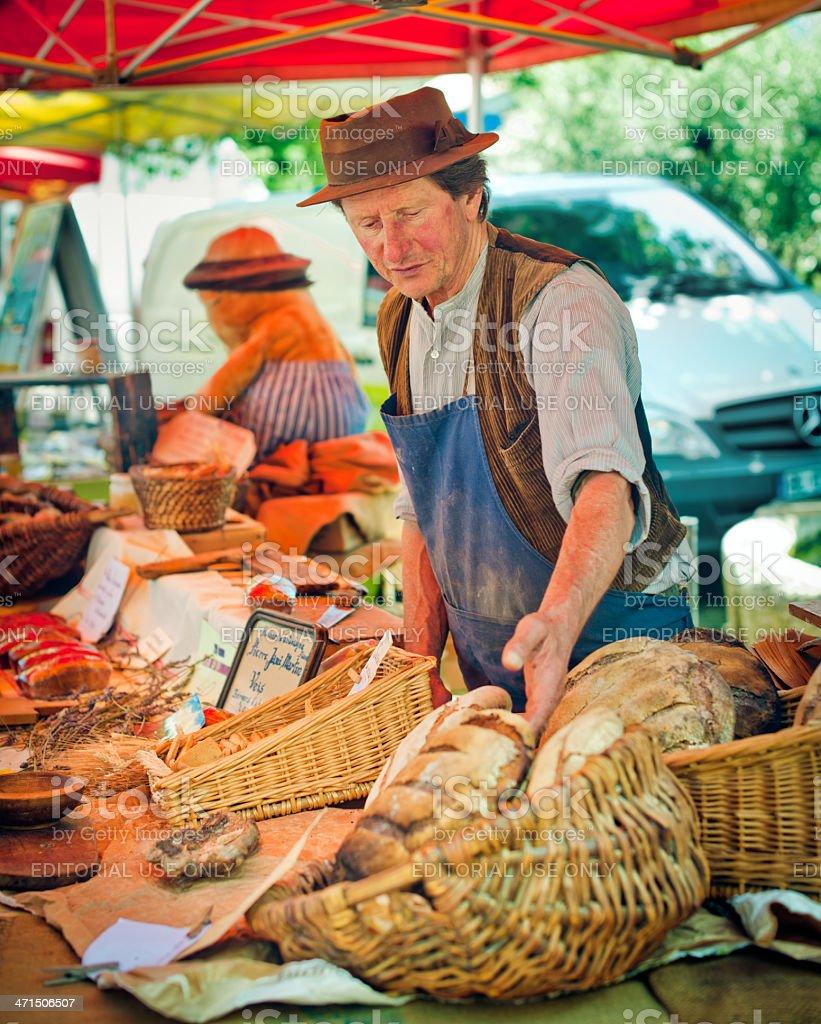 Baker royalty-free stock photo