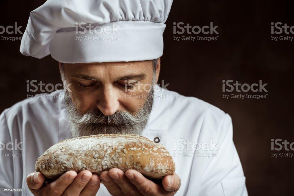 Baker stock photo