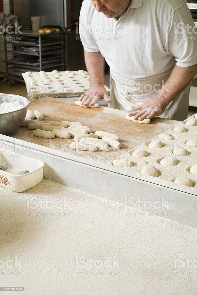 Baker Series royalty-free stock photo