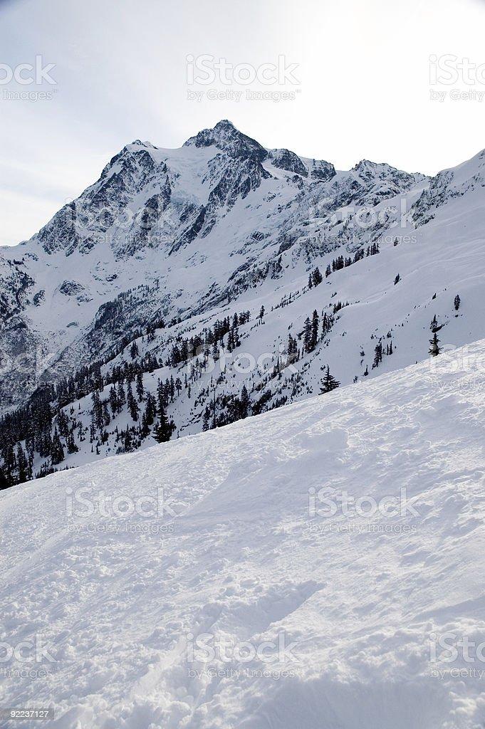 Baker - Ski Area 4 royalty-free stock photo