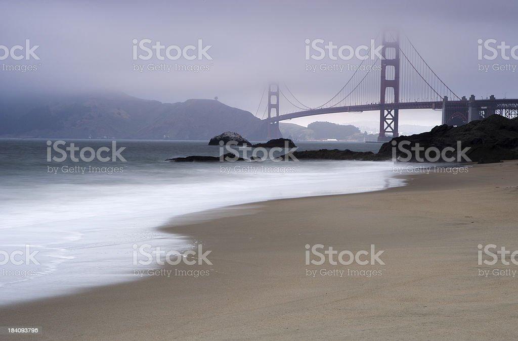 Baker's Beach royalty-free stock photo