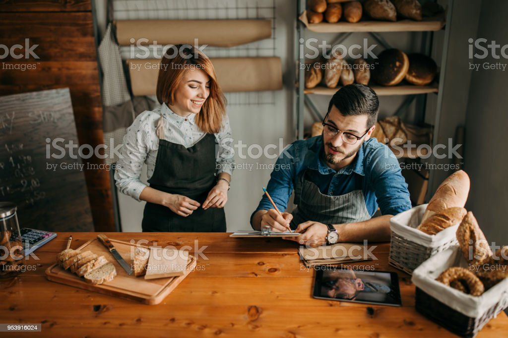 Bakers controlling quality of products