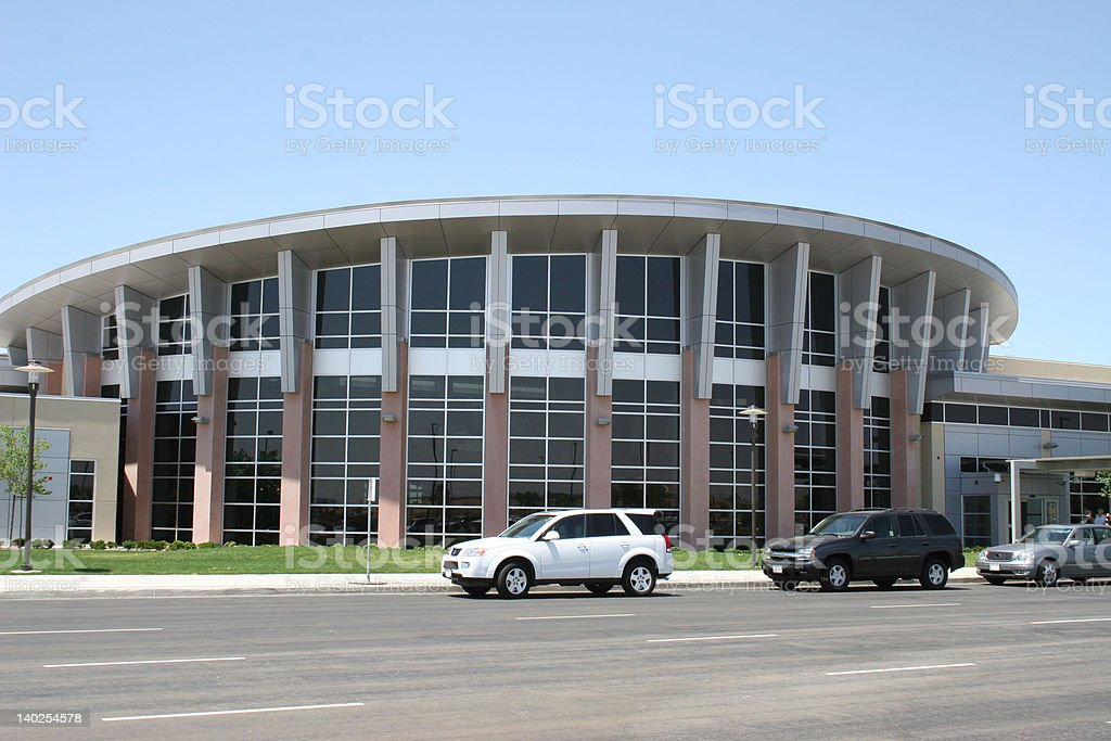 Bakersfield Airline Passenger Terminal stock photo