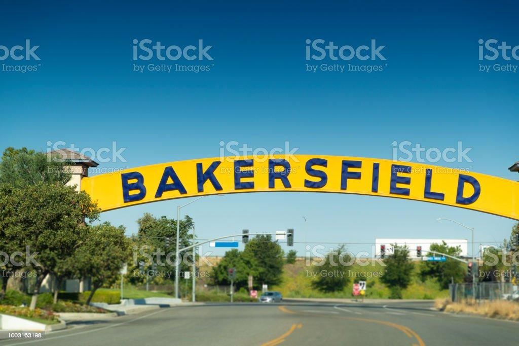 Bakersfield stock photo