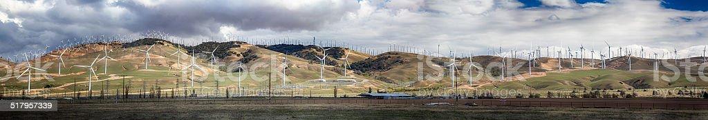 Bakersfield Wind Farm stock photo