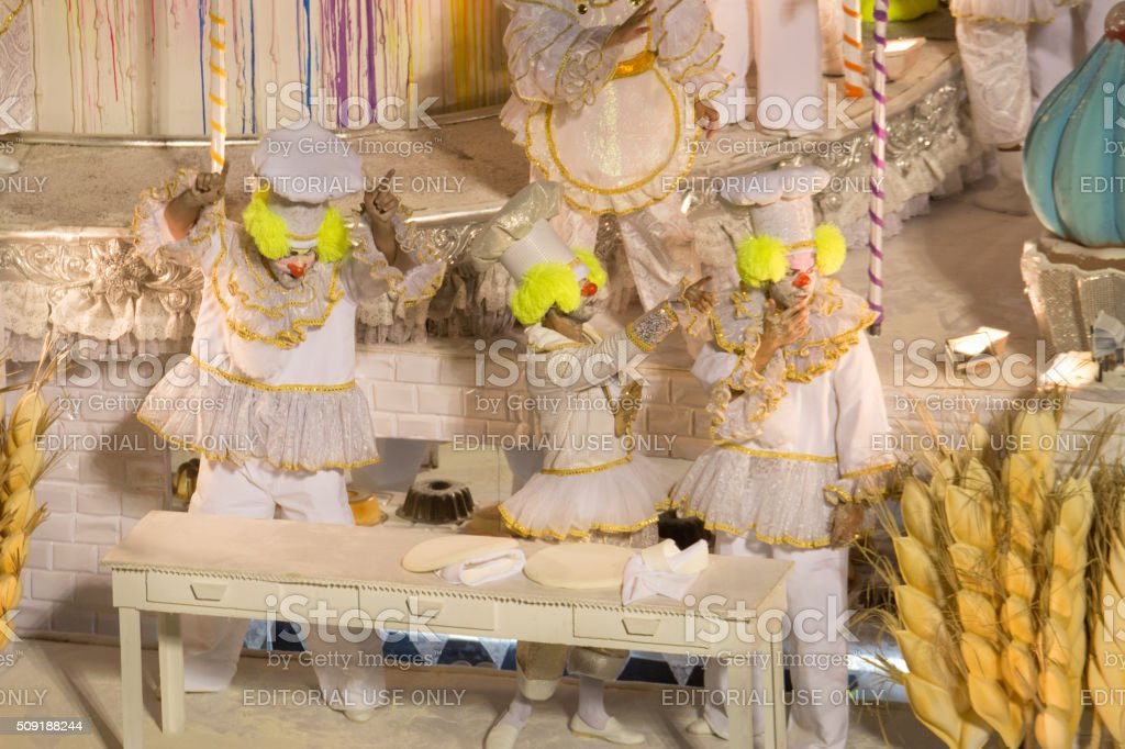 Bakery clowns royalty-free stock photo