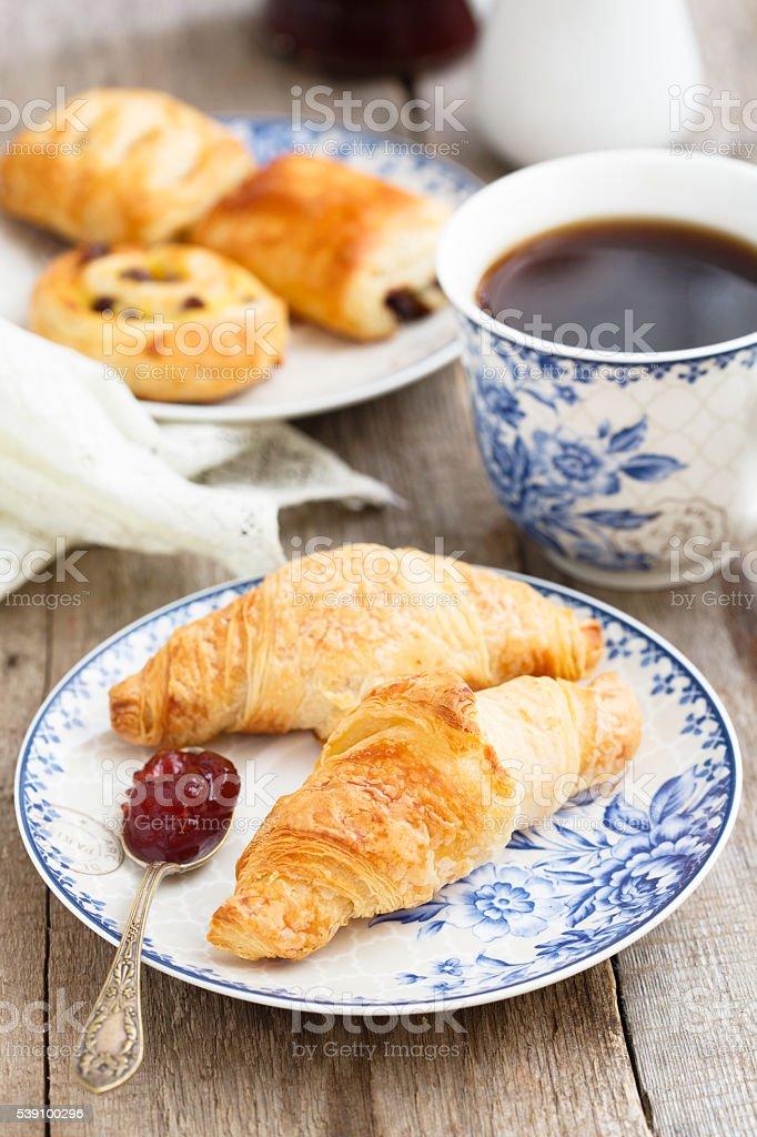 Bakery for breakfast stock photo