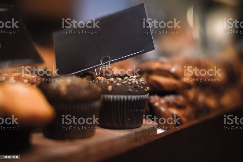 Bakery goods stock photo