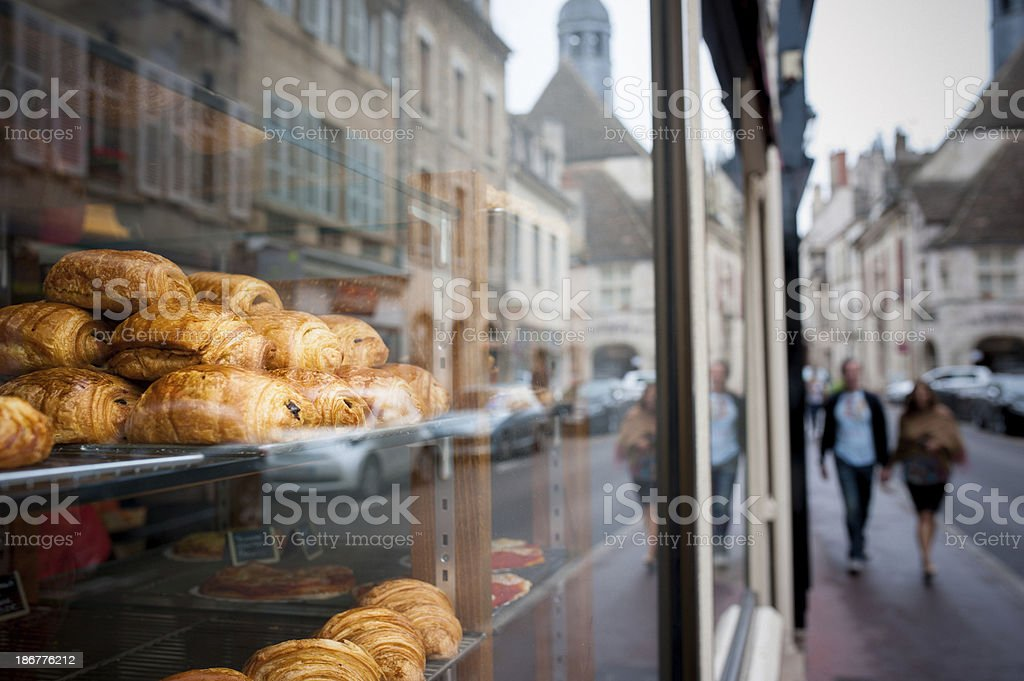 Boulangerie in France stock photo