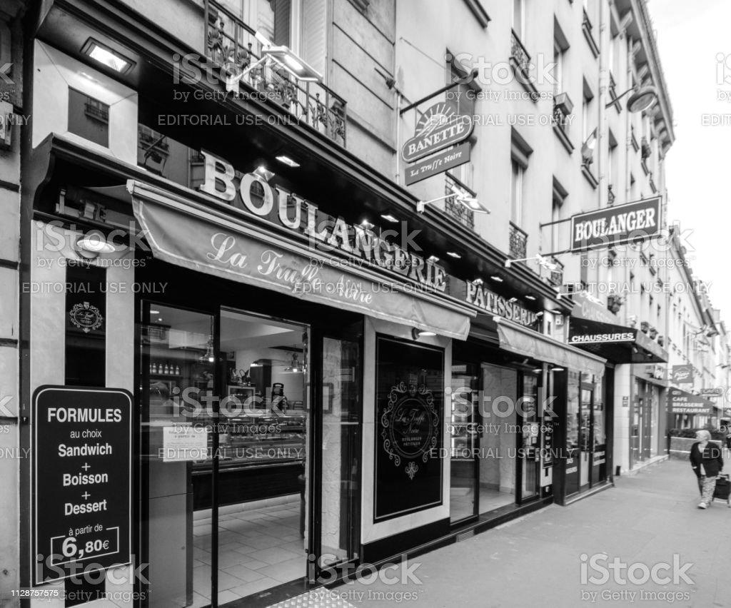 La Truffe Noire pattiserie boulangerie bakery fromthe banette chain...