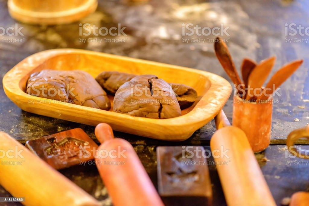 bakery in Torun stock photo