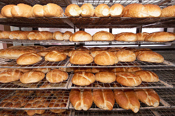 Bakery products stock photo