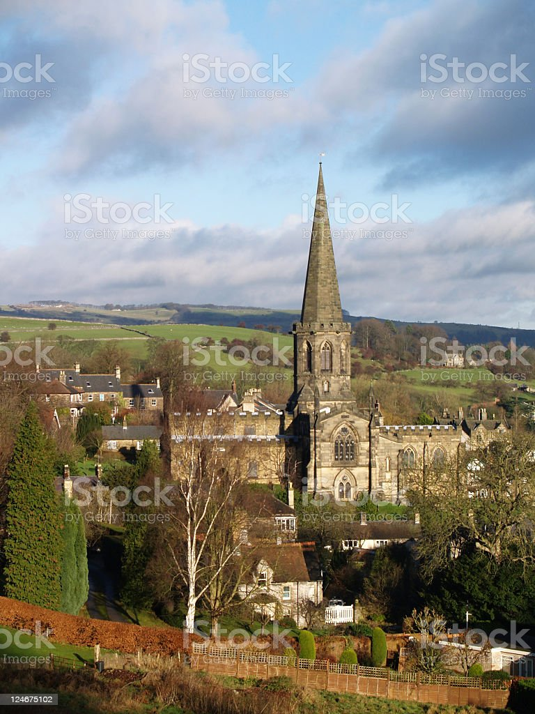 Bakewell Church royalty-free stock photo