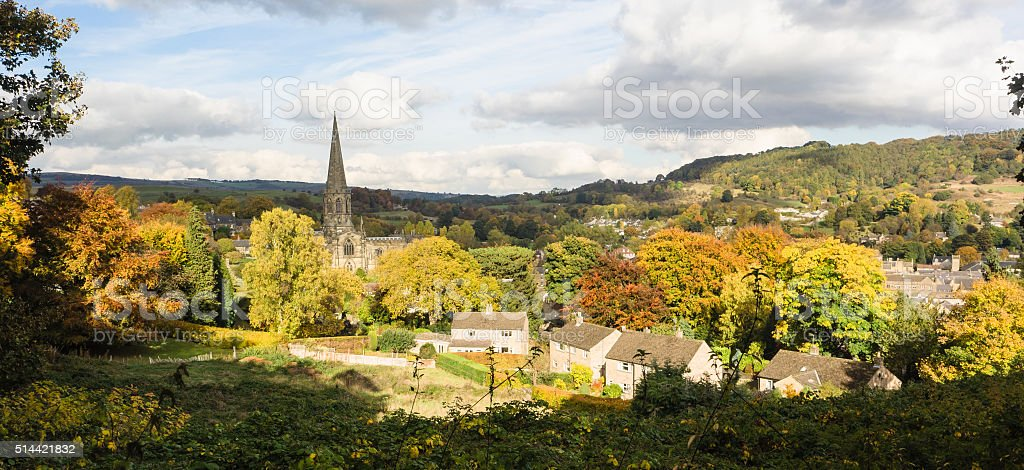 Bakewell Church stock photo