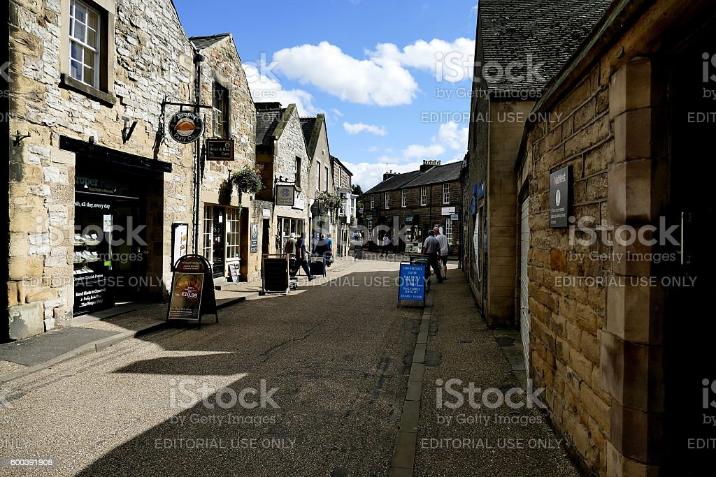 Bakewell, Derbyshire. stock photo