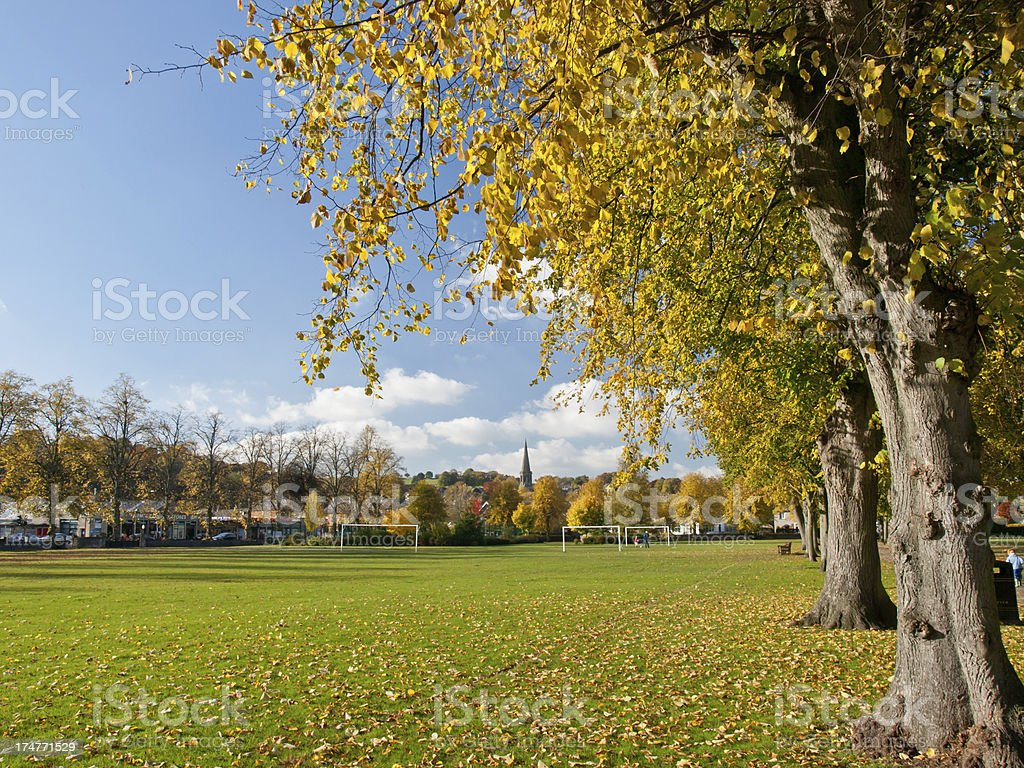 Bakewell Park royalty-free stock photo