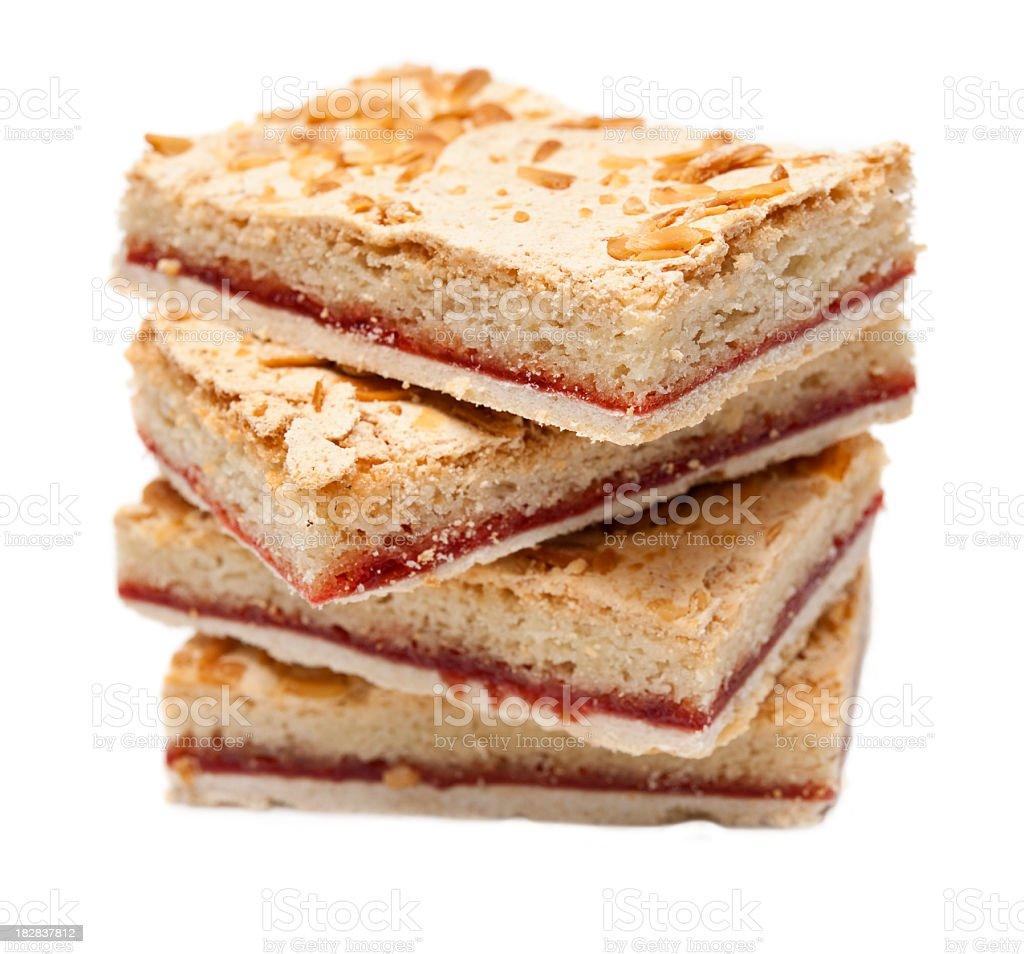 Bakewell slice royalty-free stock photo