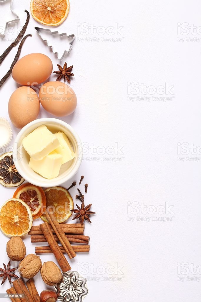 Baking background royalty-free stock photo