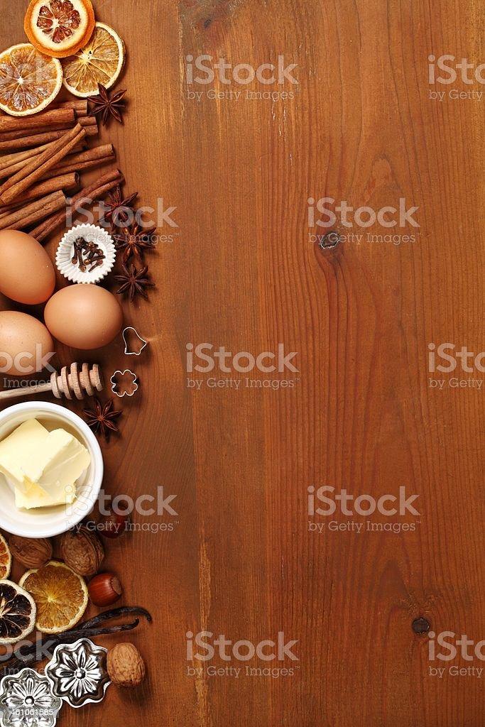 Baking background royalty-free stock photo