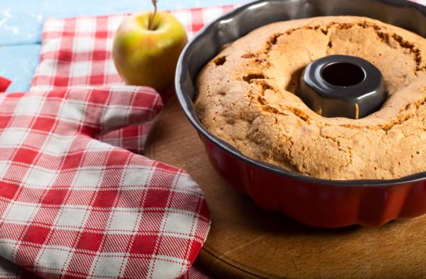 Baking cake stock photo
