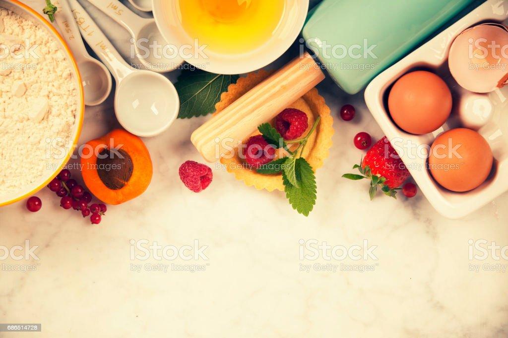 Baking concept royaltyfri bildbanksbilder