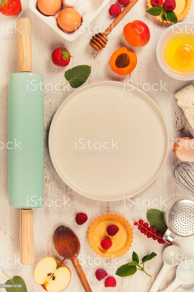 Baking concept zbiór zdjęć royalty-free