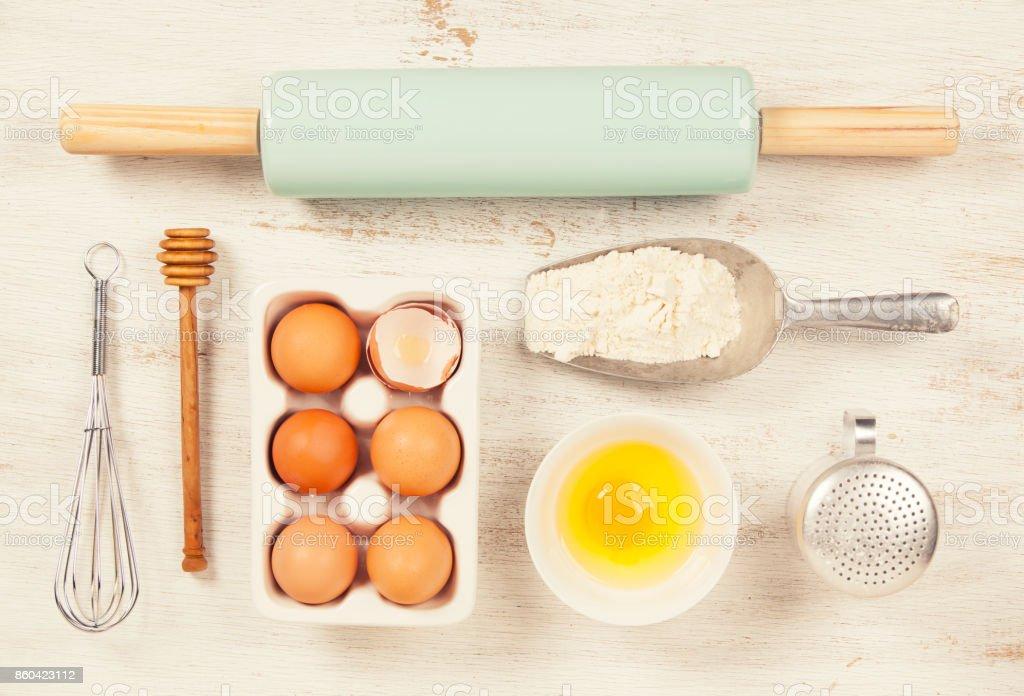 Baking concept stock photo