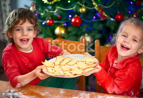 664420980 istock photo Baking Cookies for Christmas 912961902