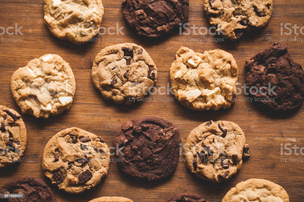 Baking cookies - foto stock